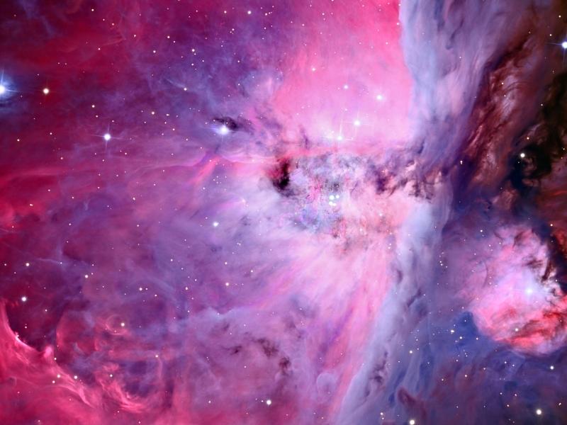 Textura de nebulosas - 800x600