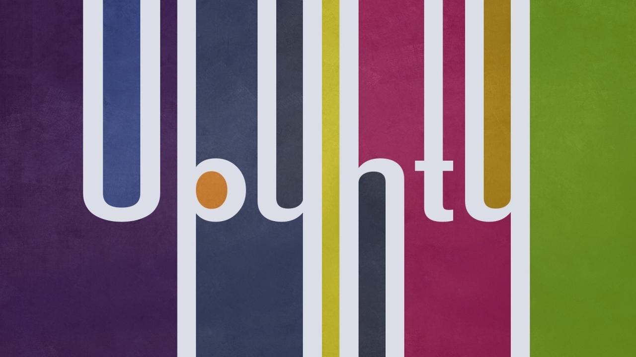 Ubuntu Multicolor - 1280x720