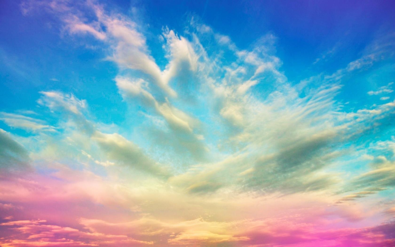 Un cielo de colores - 1680x1050