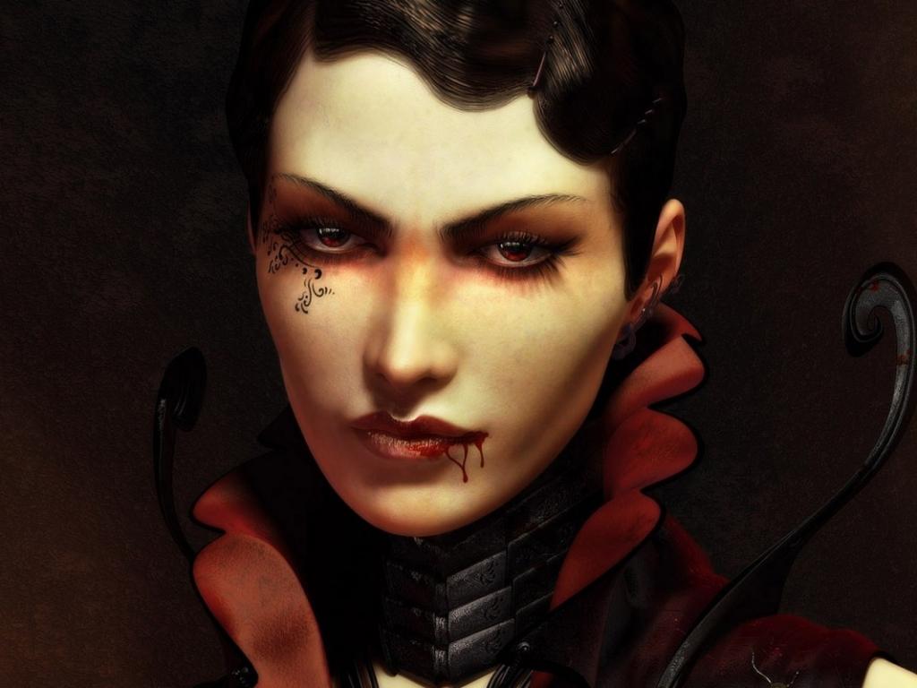 Una vampira - 1024x768