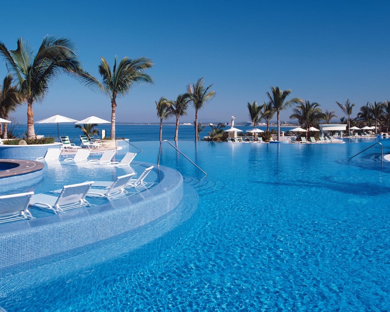 Vacaciones en un hospedaje frente al mar - 1280x1024