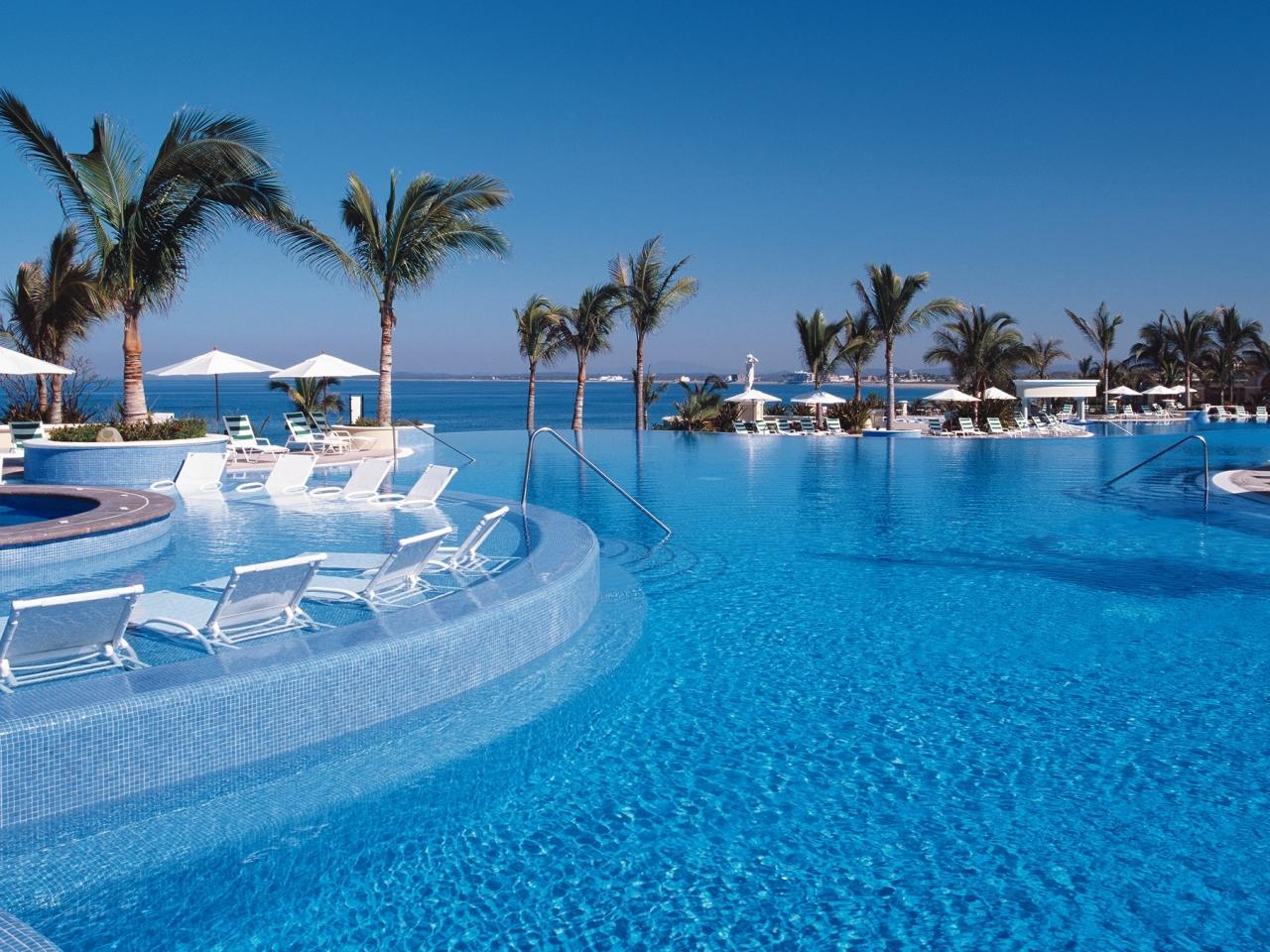 Vacaciones en un hospedaje frente al mar - 1280x960