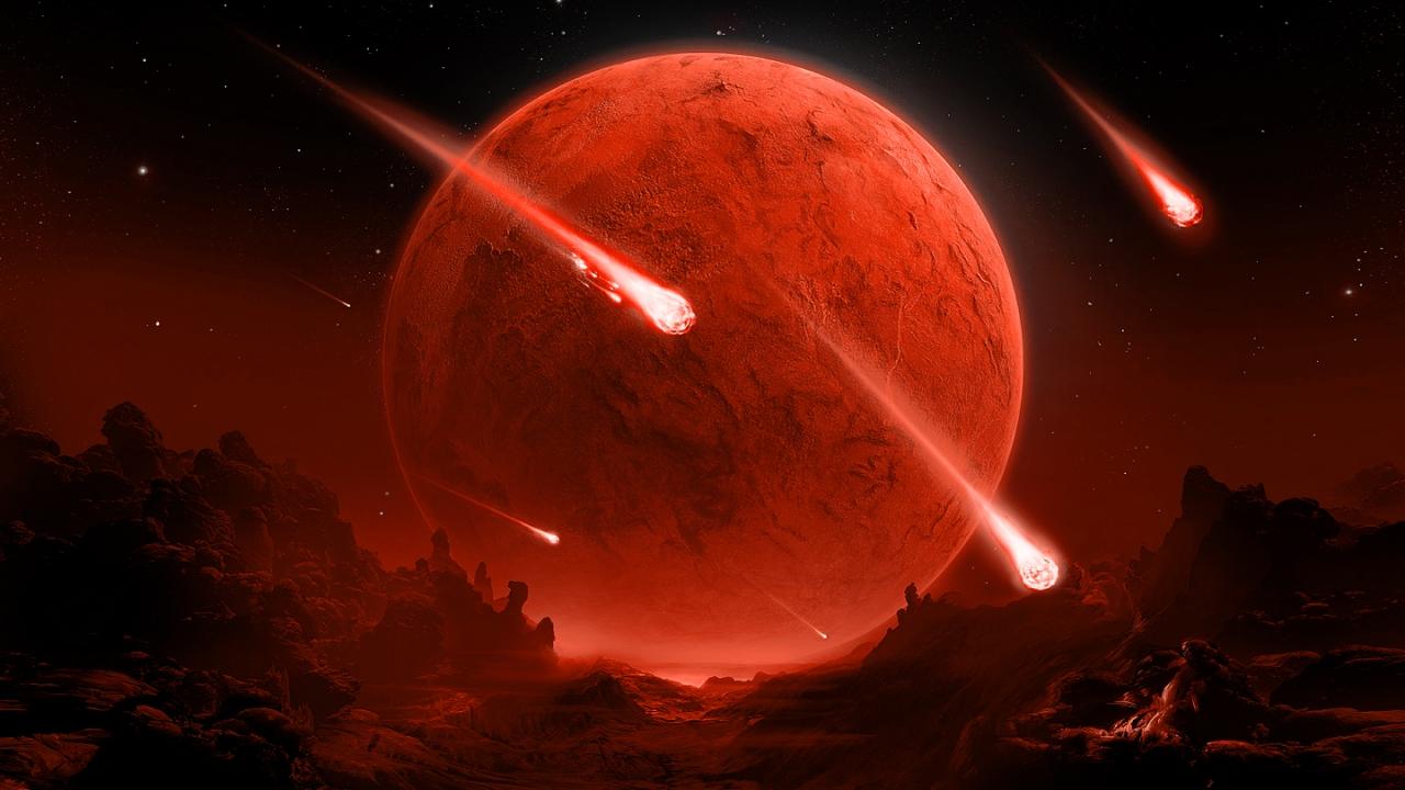 Viaje de Meteoritos - 1280x720