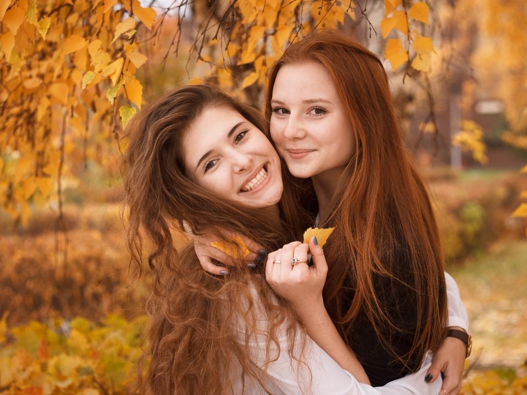 Bellas chicas pelirrojas - 1024x768