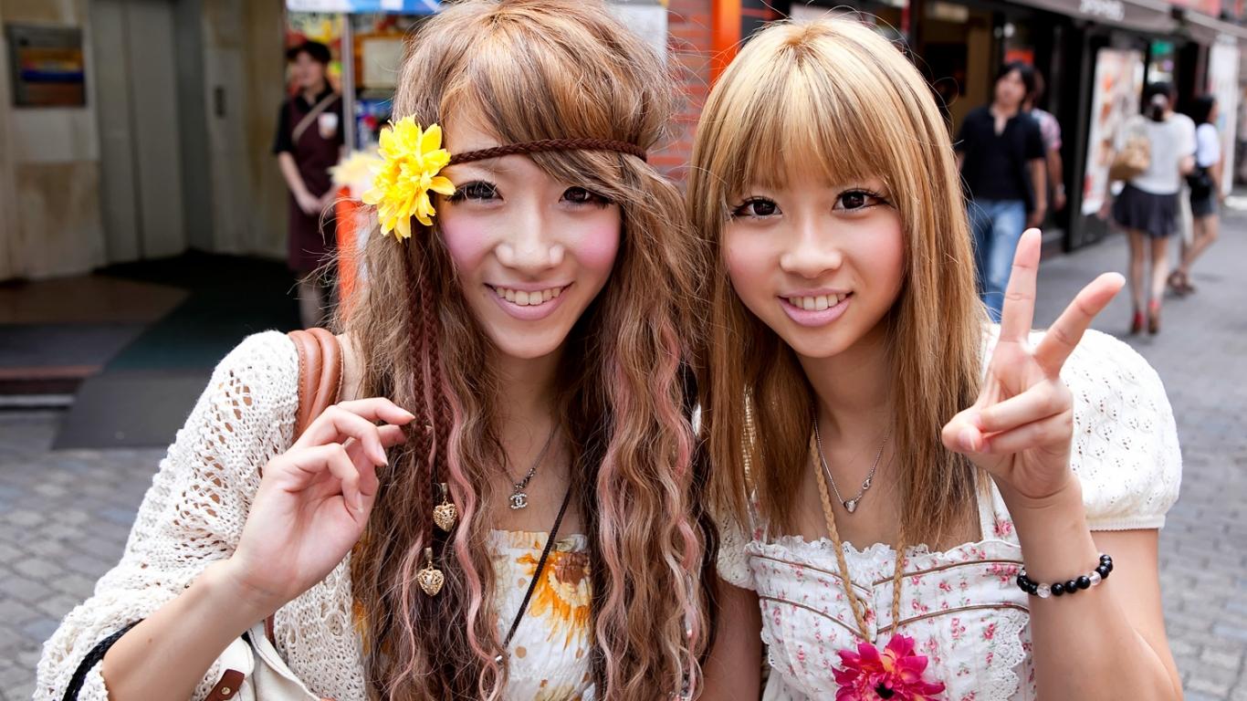 Bellezas japonesas - 1366x768
