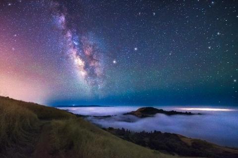 Estrellas y Galaxias de noche - 480x320