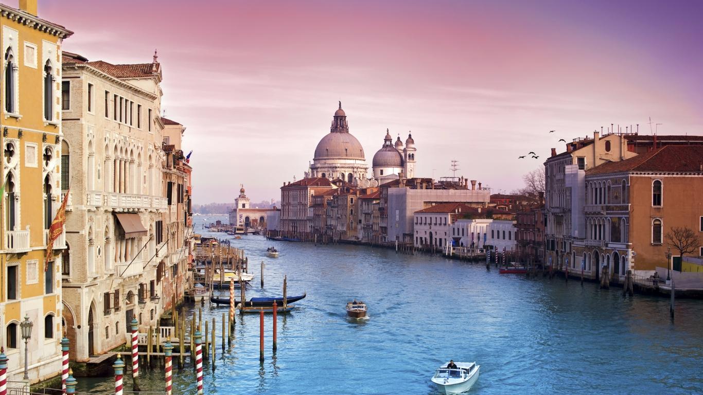 Fotos de Venecia - 1366x768