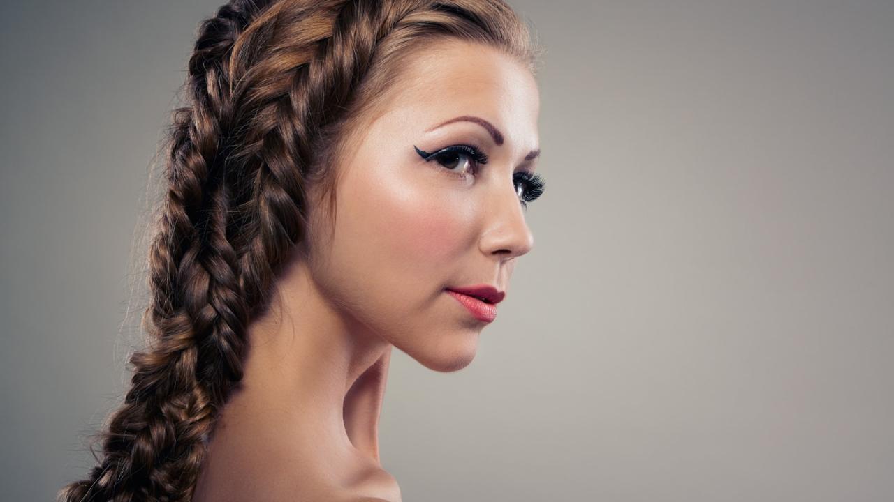 Peinados de mujeres hermosas - 1280x720