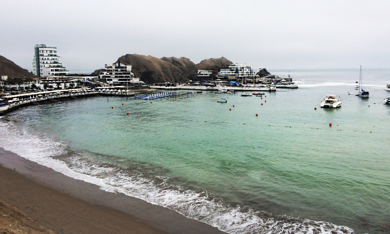 Playa Los Embajadores - Lima Sur - 1280x768