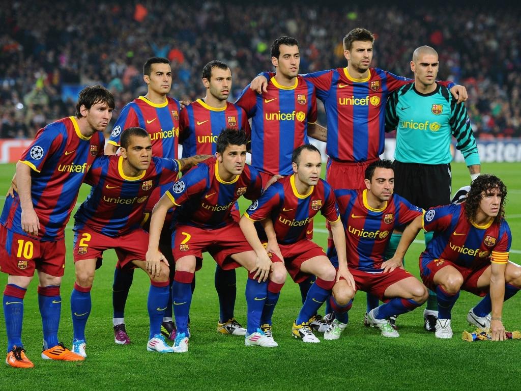 Selección del Barcelona 2015 - 1024x768
