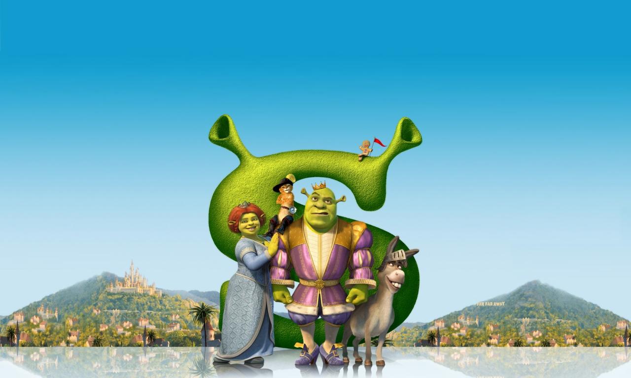 Shrek, la película - 1280x768