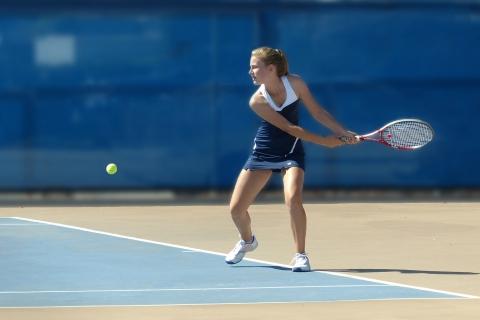 Chicas jugando tenis - 480x320