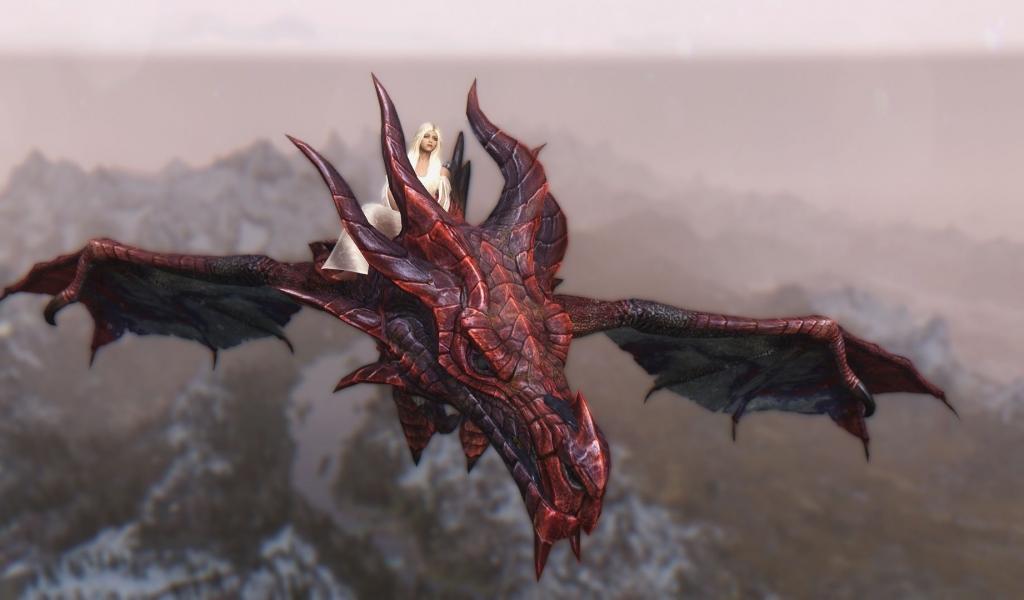 Daenerys y Drogon - 1024x600