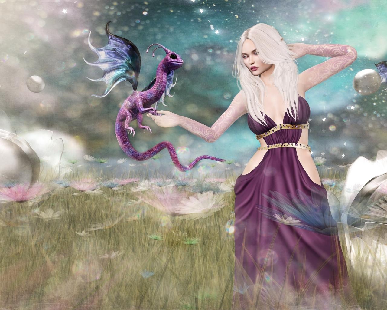 Juego de Tronos Fantasy - 1280x1024