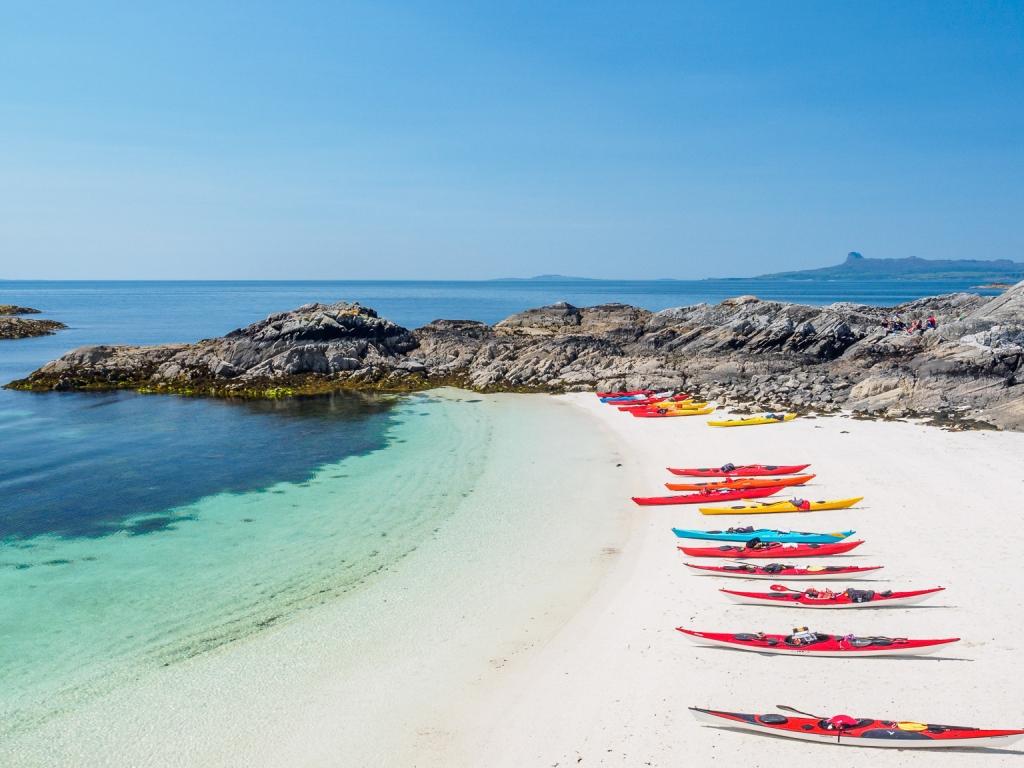 Kayak en playas - 1024x768