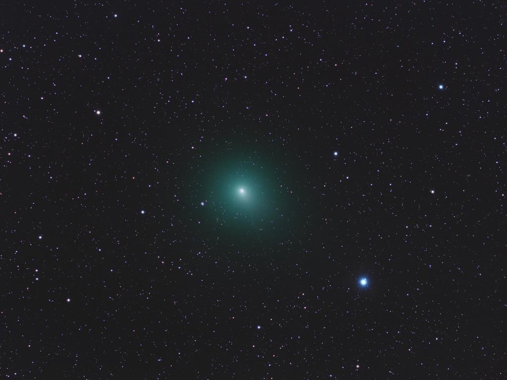 Astros en el espacio - 1024x768