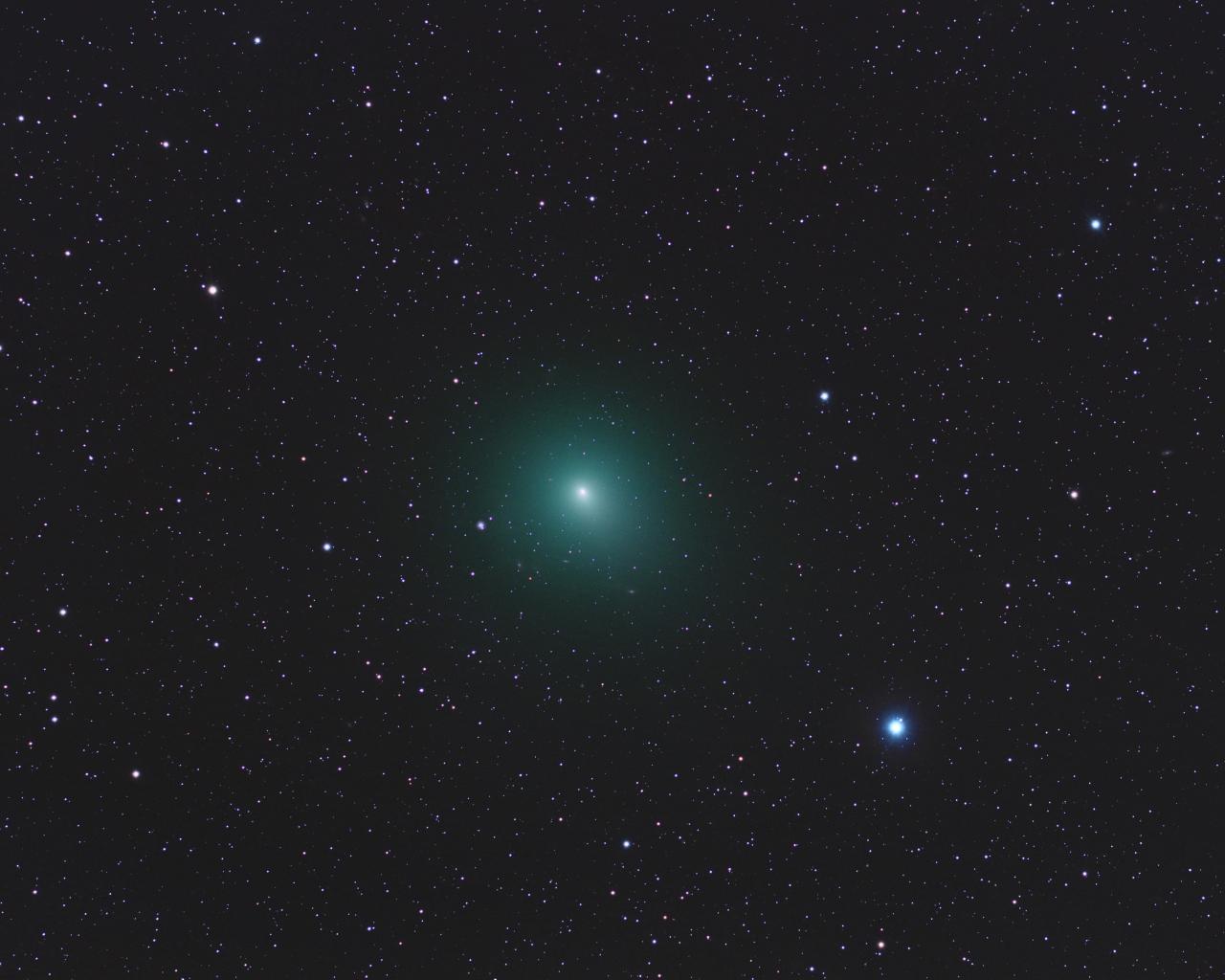 Astros en el espacio - 1280x1024