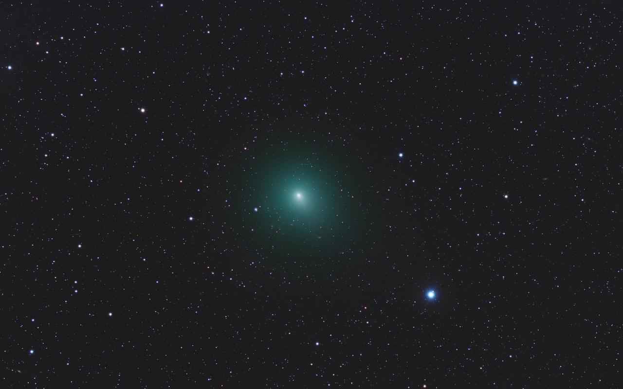 Astros en el espacio - 1280x800