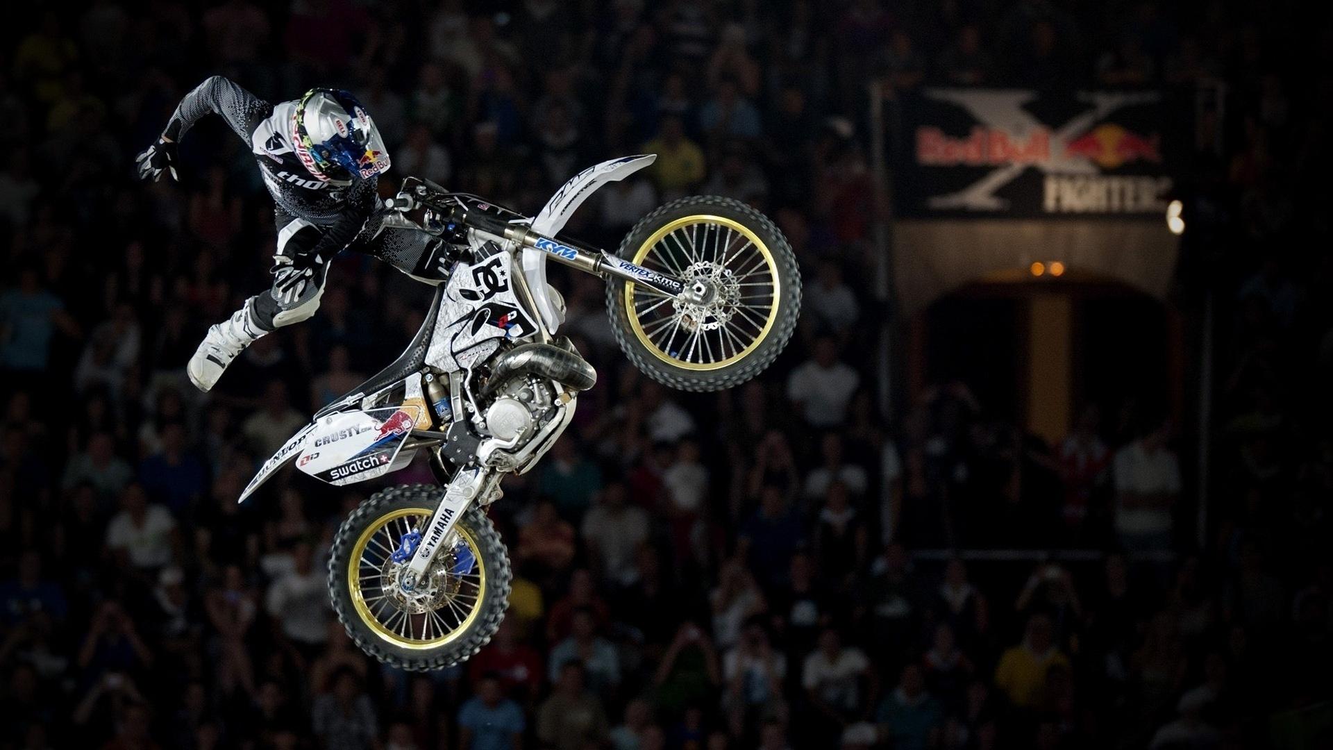 Salto en motocross - 1920x1080