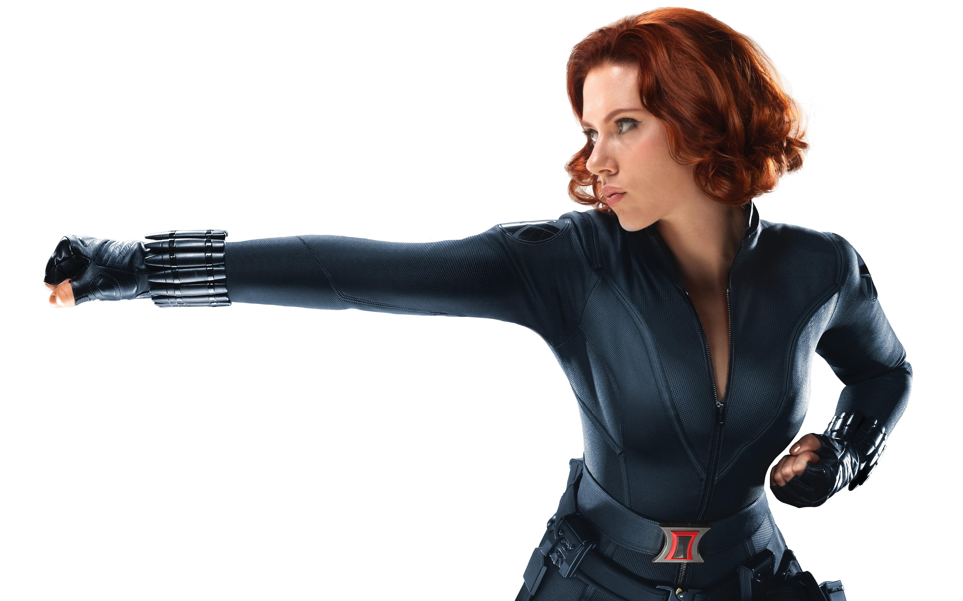 Scarlett Johansson, pelirroja - 4000x2500