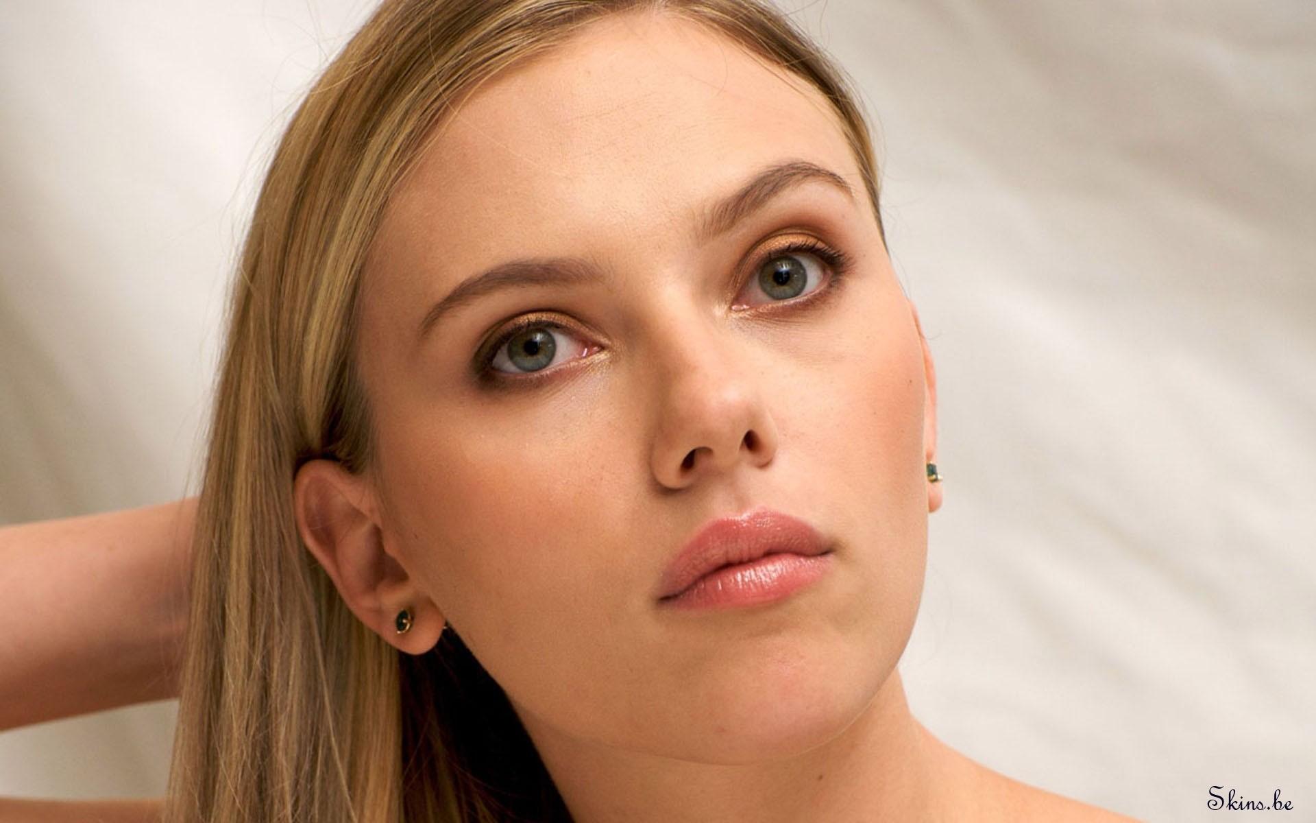Scarlett Johansson rostro - 1920x1200