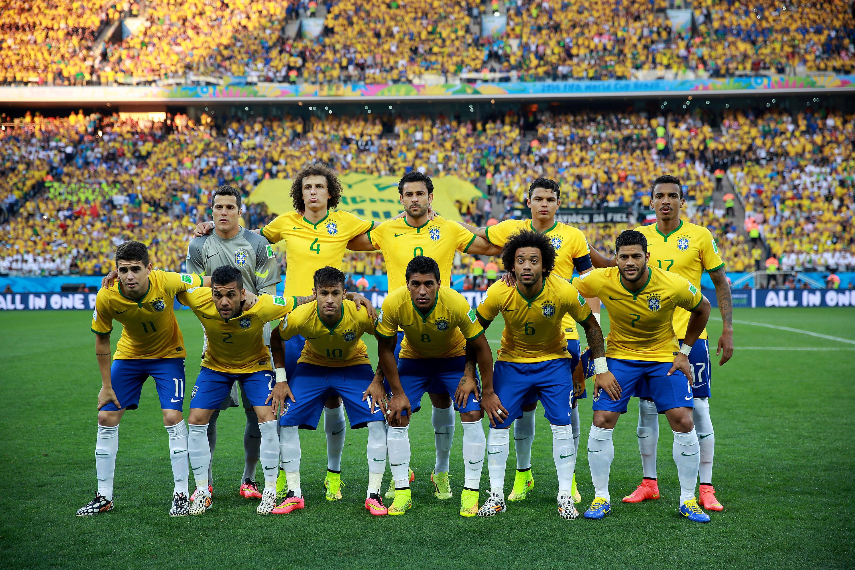 Selección de Brasil 2014 - 3000x2000