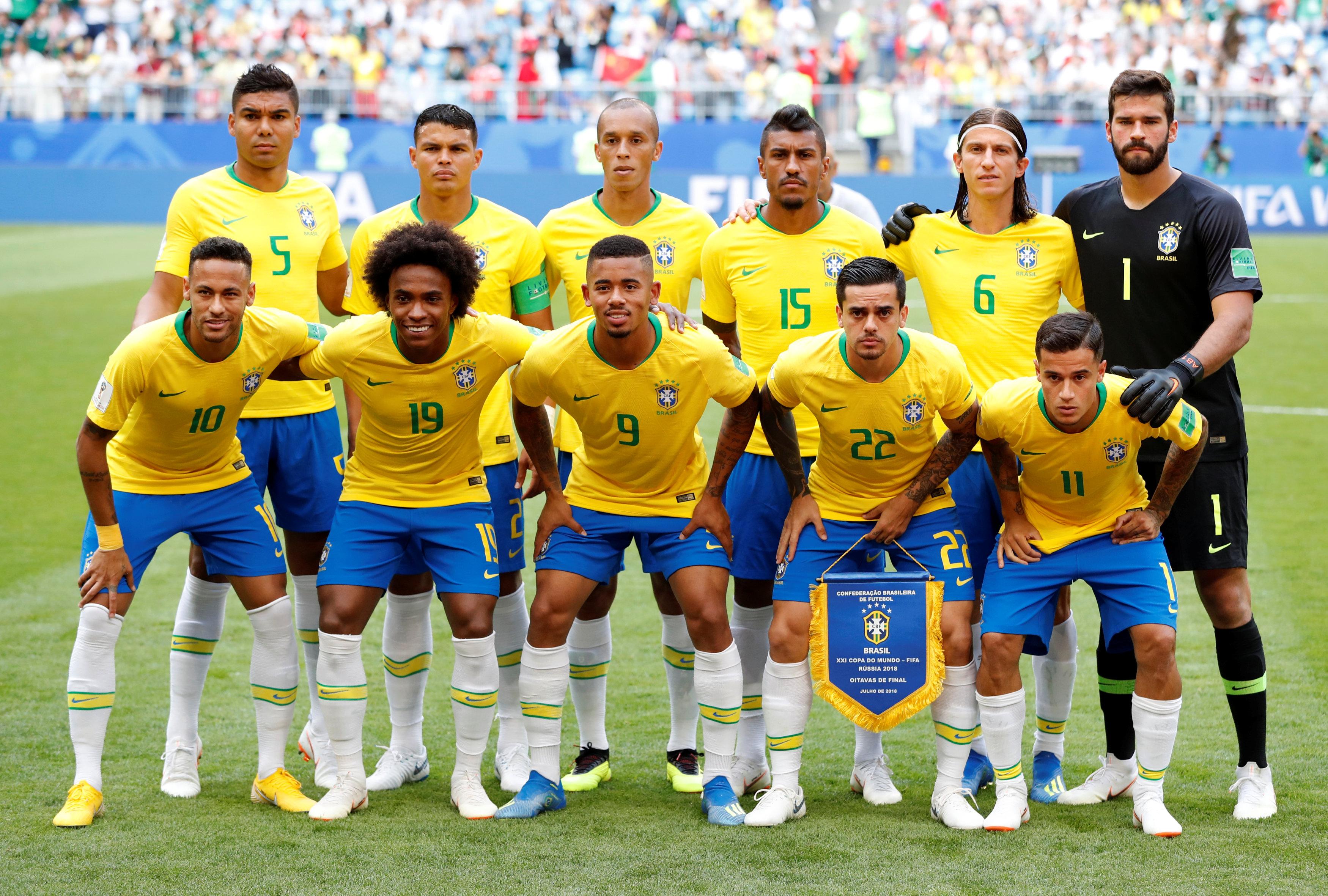 Selección de Brasil 2018 - 3500x2362