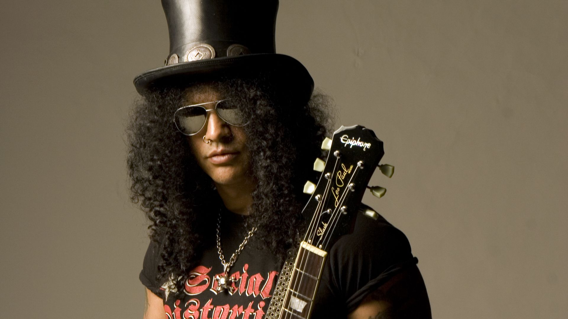 Slash de Guns and Roses - 1920x1080