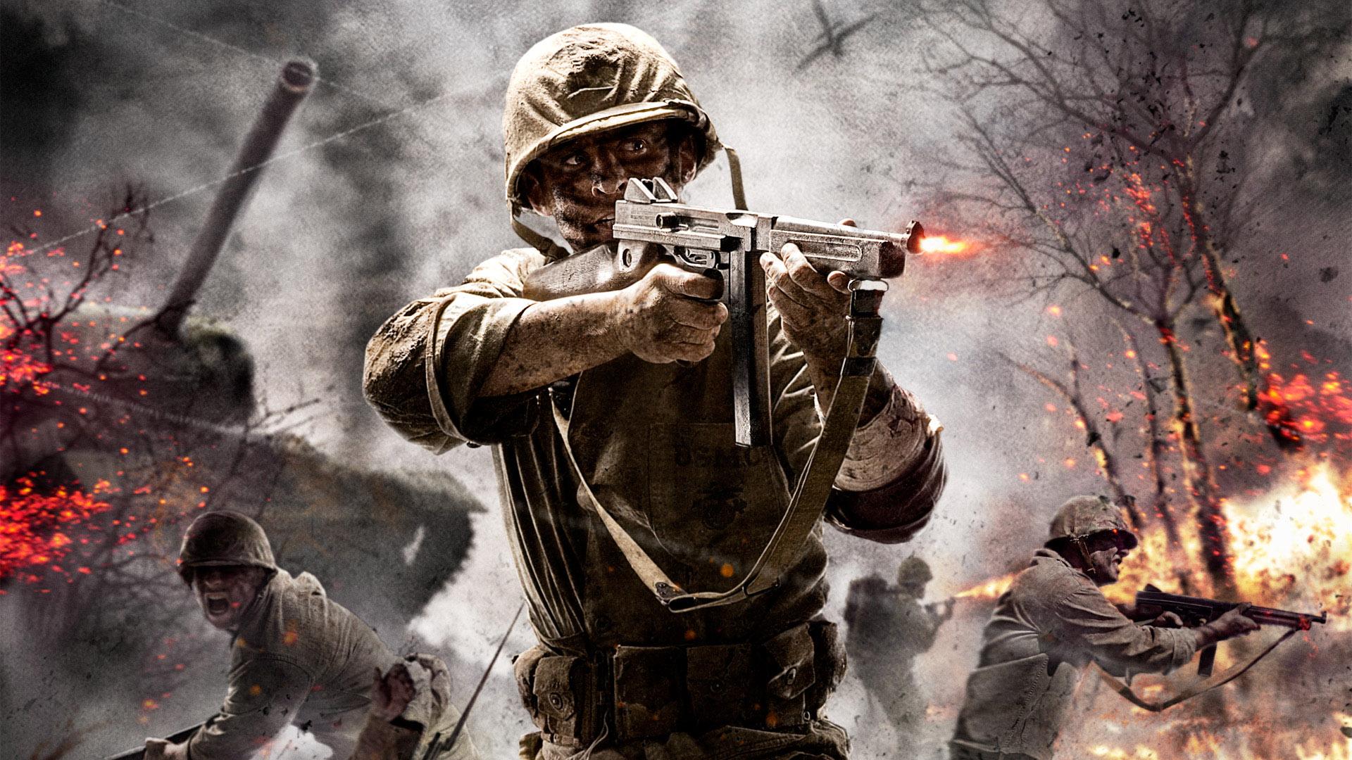 Soldado de los videojuegos - 1920x1080