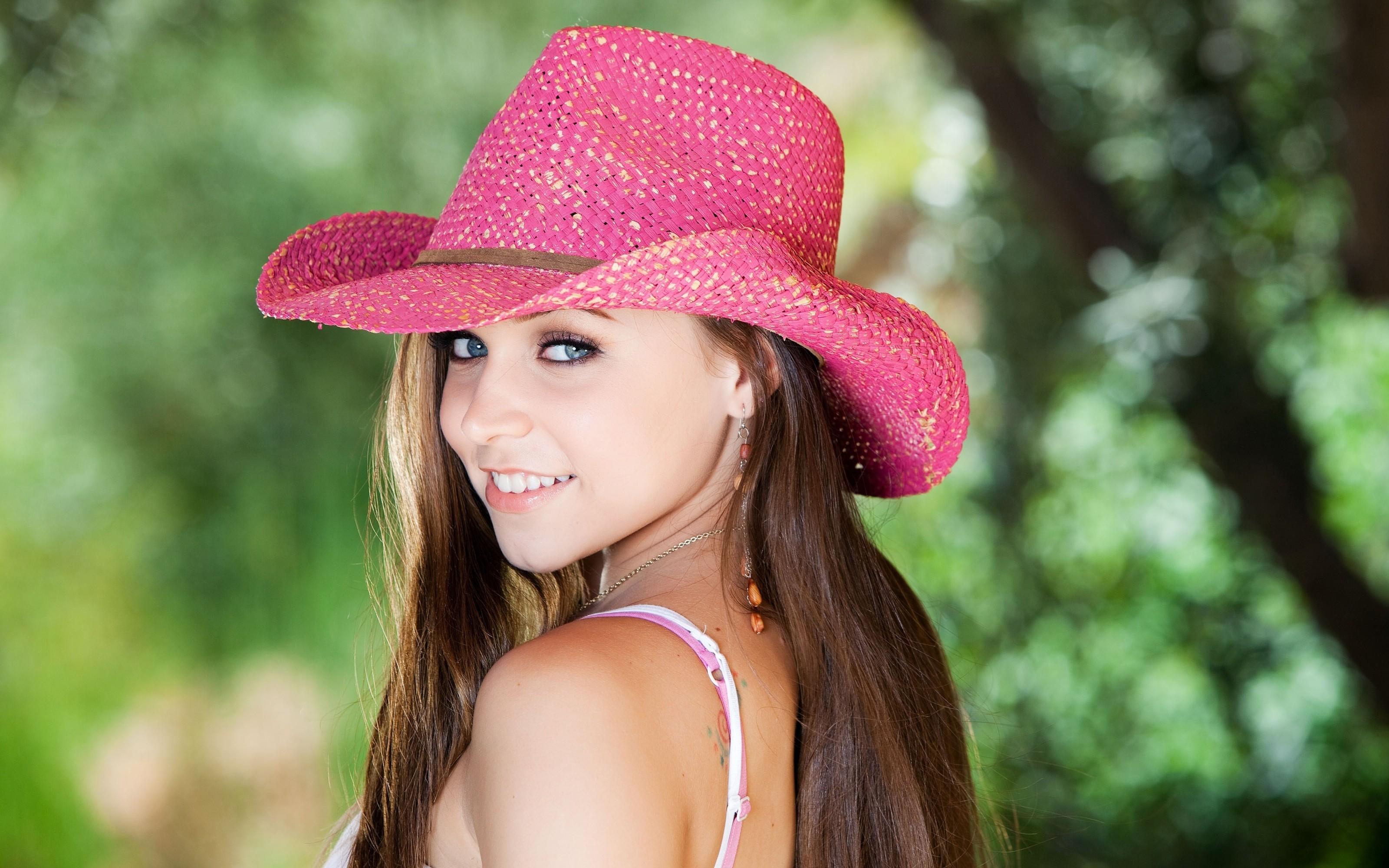 Sombrero rosado - 3200x2000