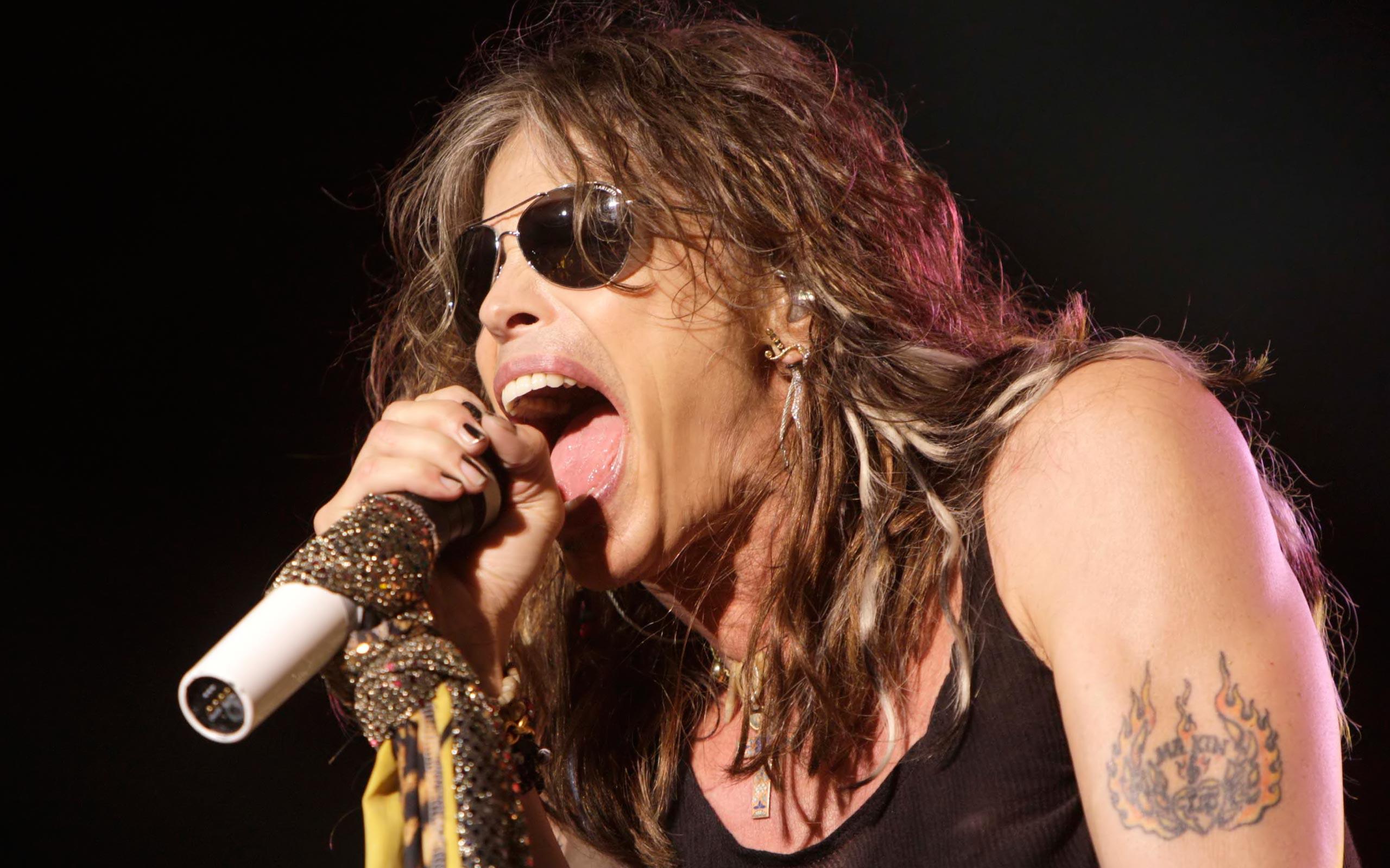 Steven Tyler de Aerosmith - 2560x1600