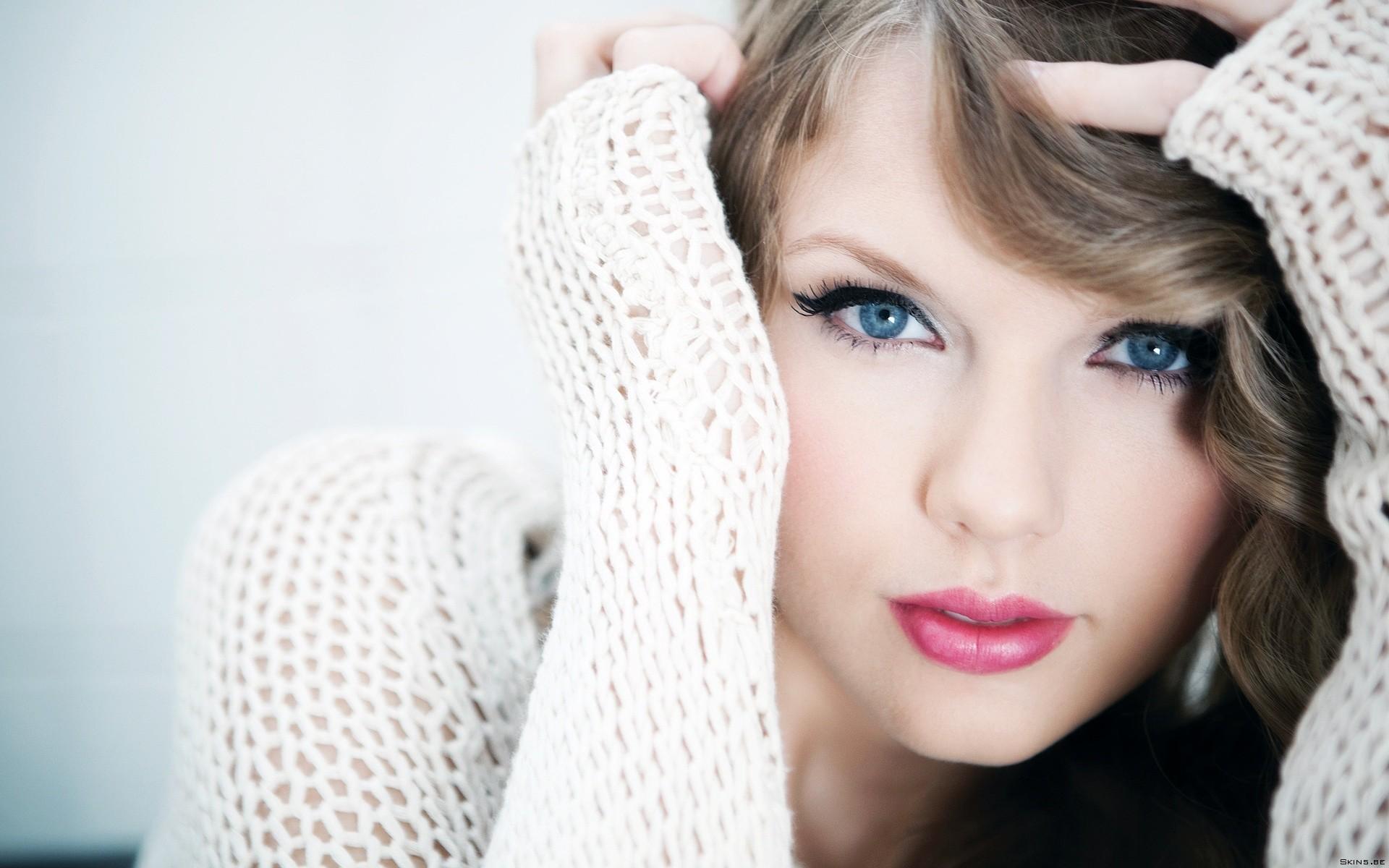 Taylor Swift y sus ojos - 1920x1200