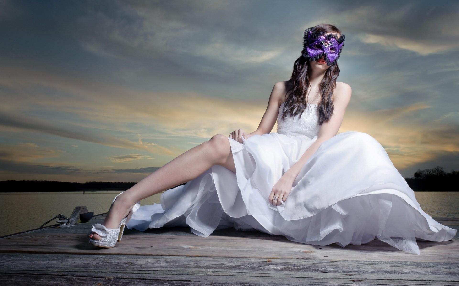 Una novia con antifaz - 1920x1200