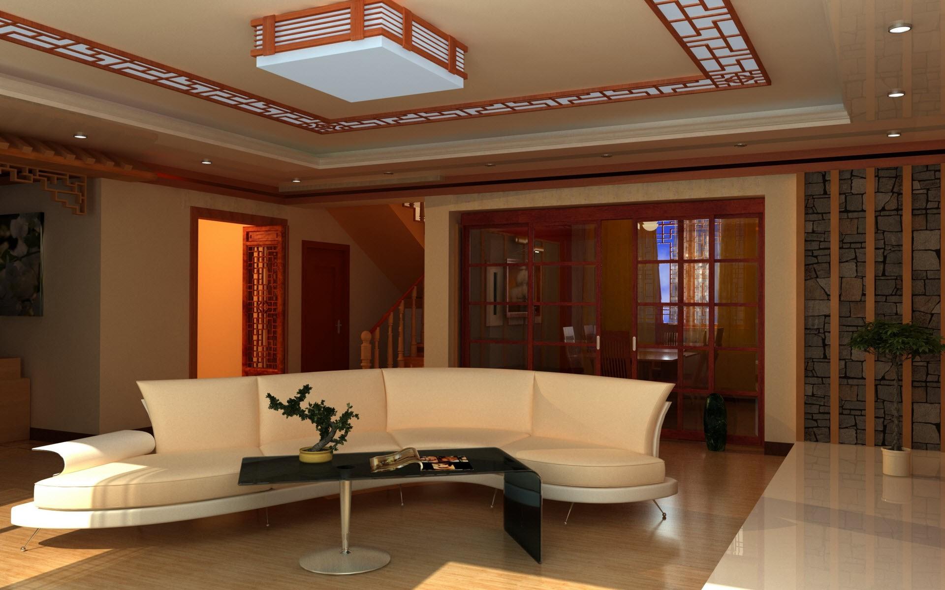 Una sala elegante - 1920x1200