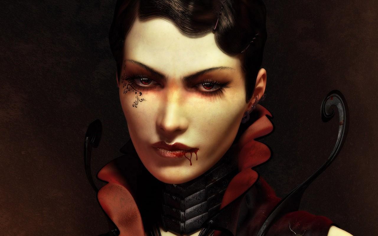 Una vampira - 1280x800