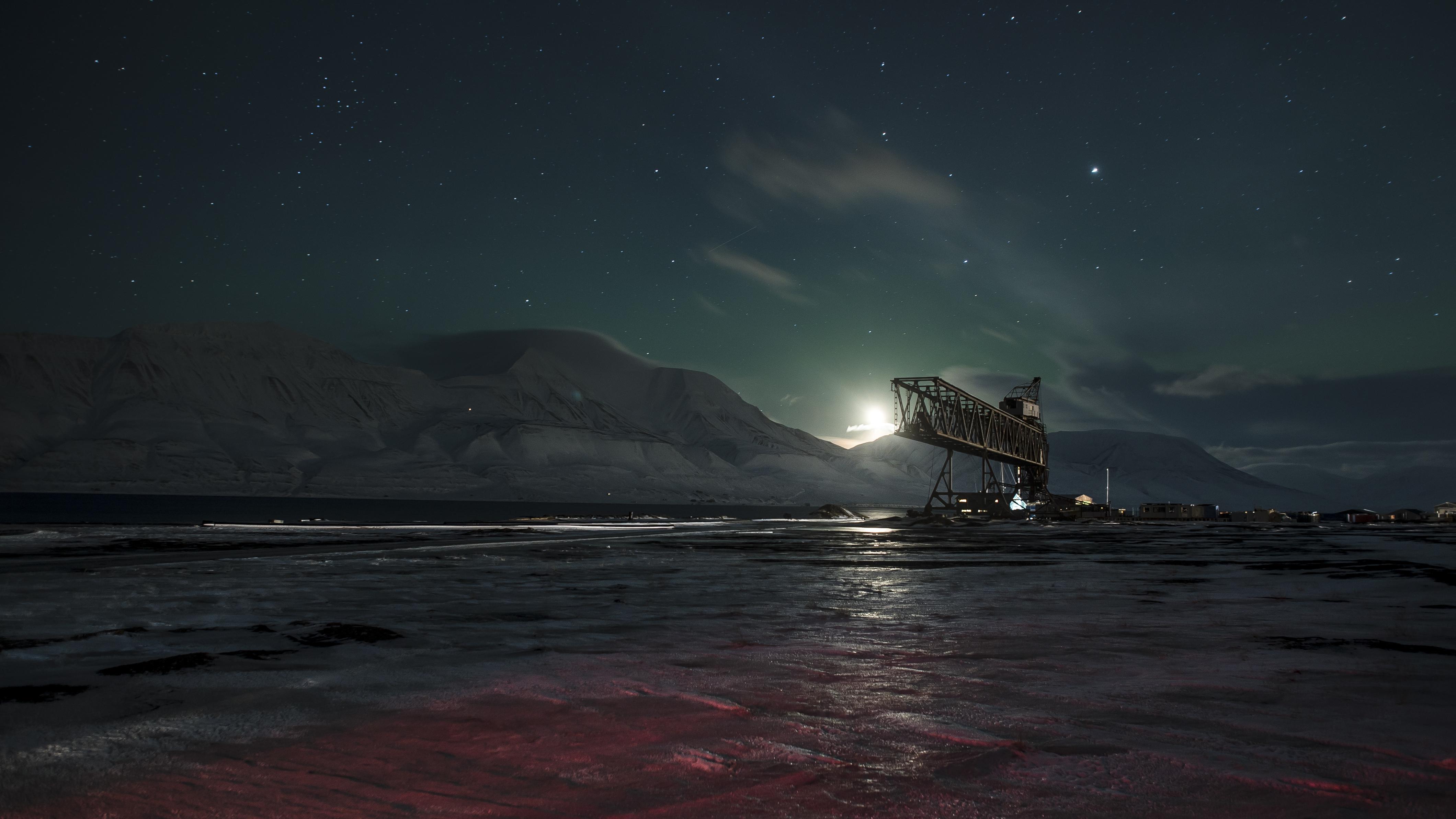 Vista desde Svalbard - 4240x2385